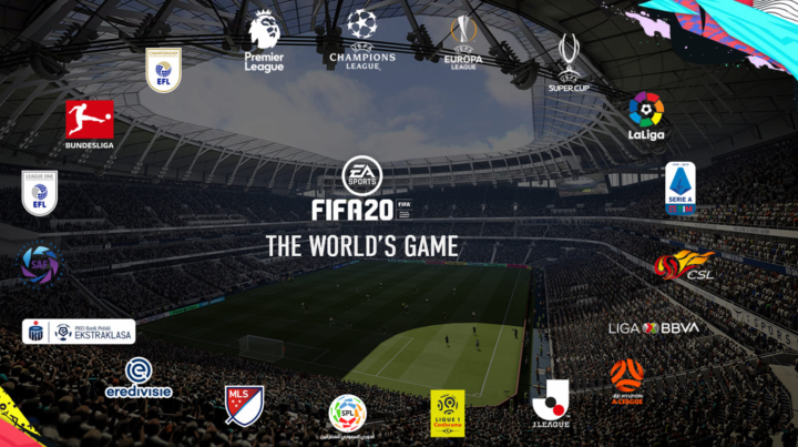 Leagues and Clubs in FIFA 20